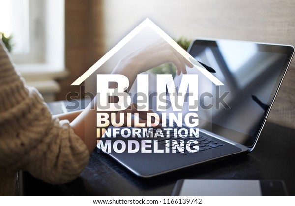 Bim Building Information Modeling Process Generation Stock