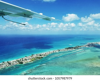 Bimini, The Bahamas viewed from a Seaplane