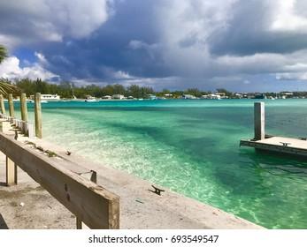 Bimini Harbour, Bahamas.