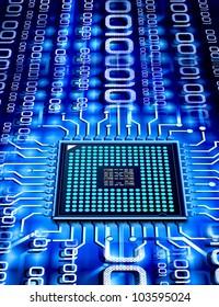 binary micro chip