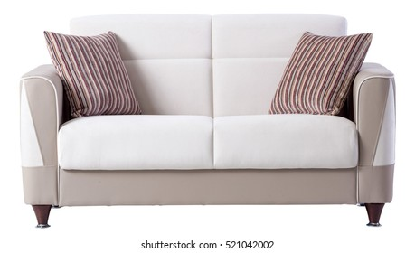 Binary Sofa with white background