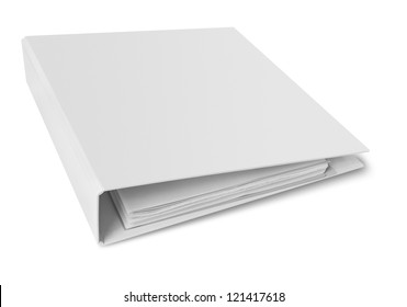 Binder blank file folder