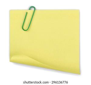 Binder Clip, Paper Clip, Paper.