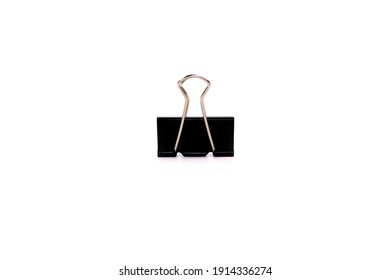 Binder Paper Clip For Office isolated on White Background