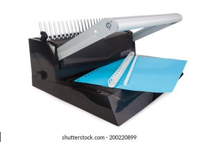 Comb Binding Machine Images, Stock Photos & Vectors | Shutterstock