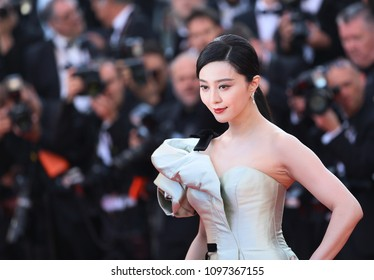 Bingbing Fan attends the screening of  'Ash Is Purest White (Jiang Hu Er Nv)' during the 71st  Cannes Film Festival at Palais on May 11, 2018 in Cannes, France.