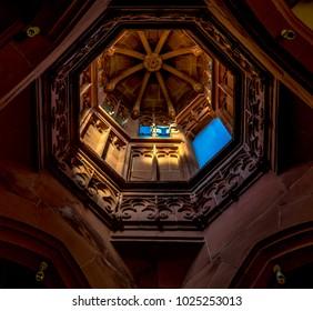 """Bingen City, Germany - February 20 2017 """"Rochus Kapelle Chapel above Bingen / Rhine"""" Rhineland Palatinate"""