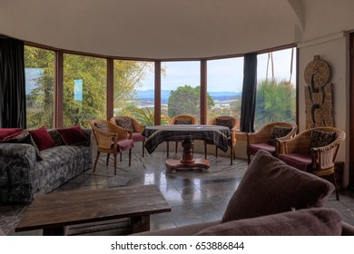 BINGIE, AUSTRALIA - OCTOBER 05, 2013: Interior in a county house. In Eurobodalla area of NSW there are many very tastefully designed houses.