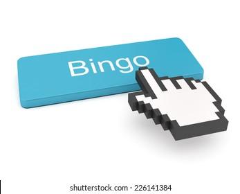 Bingo Button on Keyboard