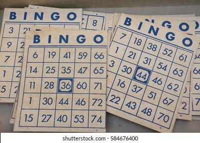 Bingo vintage game