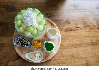 Bingsoo green melon set