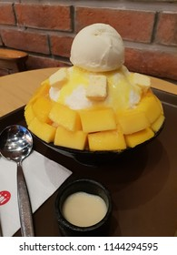 Bingsoo with mango