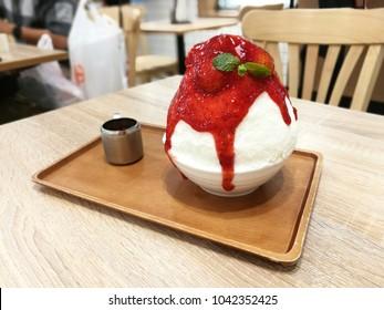 Bingsu sweet ,strawberry sweet
