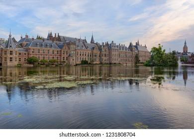 The Binnenhof Complex In The Hague, Netherlands