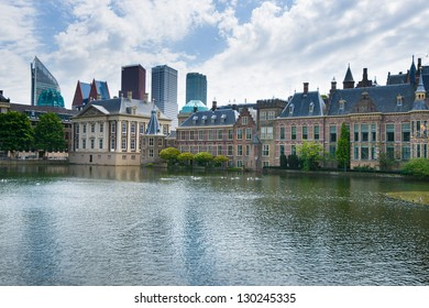 "The Binnenhof (Dutch, literally ""inner court""), is a complex of buildings in The Hague. It has been the location of meetings of the Staten-Generaal, the Dutch parliament"