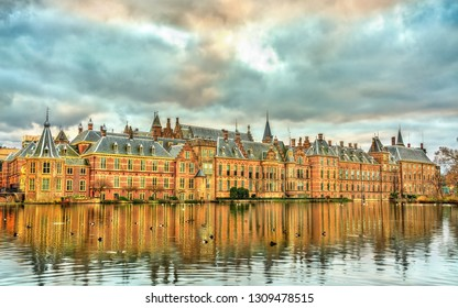 Binnenhof Palace, the Dutch Parliament building in the Hague, the Netherlands