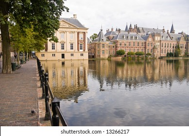 Binnenhof Palace in The Hague (Den Haag), The Netherlands. Dutch Parlament buildings.