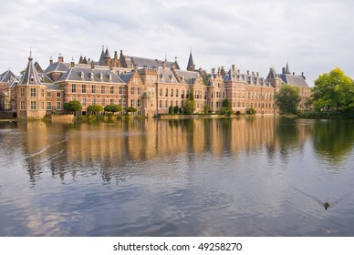 Binnenhof Palace in The Hague (Den Haag), The Netherlands. Dutch Parliament buildings.