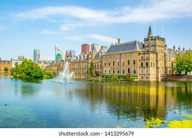 Binnenhof palace in the Hague, Netherlands