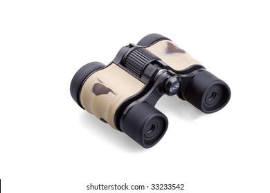 binocular isolated on white