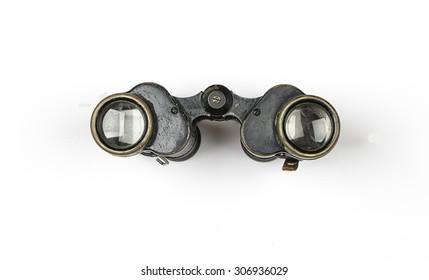 binoculars during the Second World War