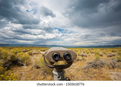 binoculars for viewing landscape near Mono Lake California