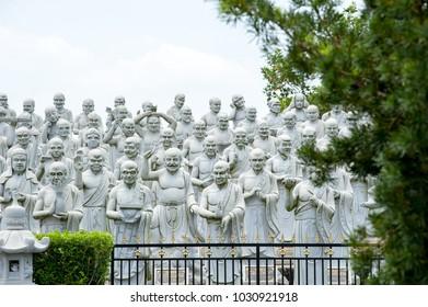 "Bintan Island, Indonesia, February 2018:""Ksitigarbha Bodhisattva Temple"""