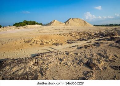 "Bintan Island, Kepulauan Riau, Indonesia, August 2019:""Bintan Desert at Bintan Island"""