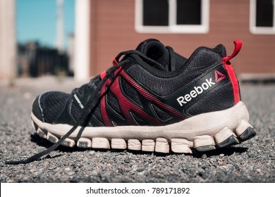 Concepción, Bio bio, Chile - jan 07, 2018: Reebok Realflex Train 4.0