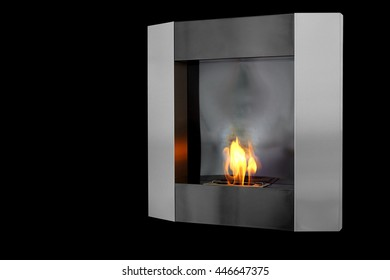 Bio fireplace.