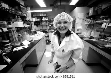 bio lab worker