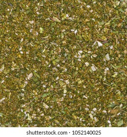 Bio organic falafel spice mix for texture or background