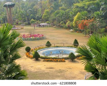 Bio-Diversity cum Recreation Park, Diphu, Assam, India. A treasure of flora-fauna, 650+ medicinal plants, orchids, bamboo, flower, museum, cultural centre, recreation games for kids, etc