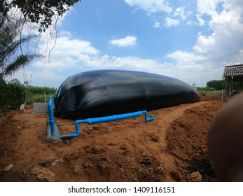 Biogas digester  Pvc plastic model