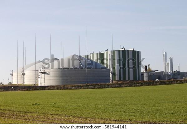biogas plant fermenter agriculture