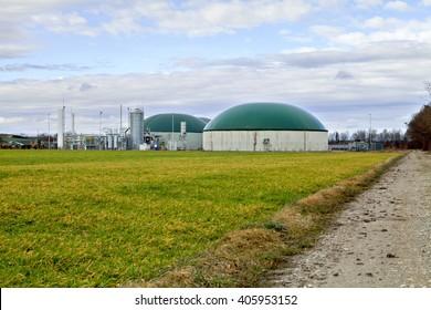 Biogas plant / Germany