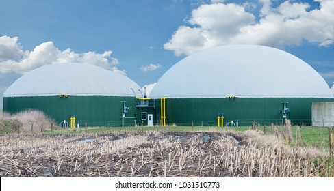 Biogas plant for power generation
