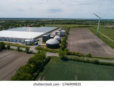 Biogasanlage für Stromerzeugung und Energieerzeugung