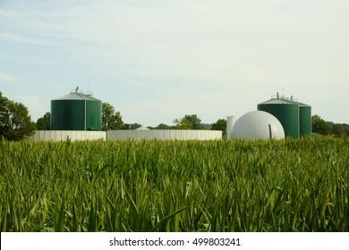Biogas plant Steinfurt, Germany