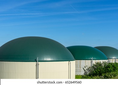 biogas power station