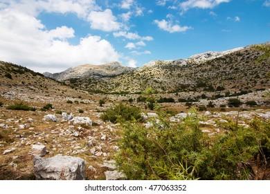 Biokovo mountains