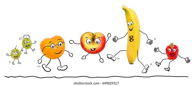 Biologic fruit, comic