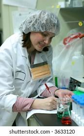 biology  lab technician