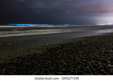 Bioluminescent Red Tide in Southern California on May 2018
