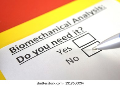 biomechanical analysis: do you need it? yes or no