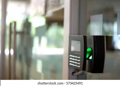 Biometric Fingerprint Scanner.