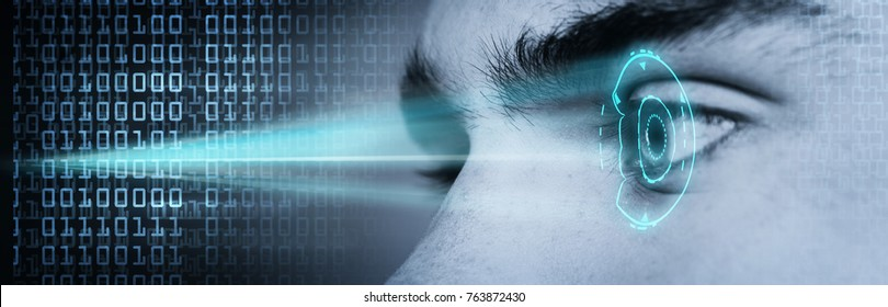 biometric retina eye scan