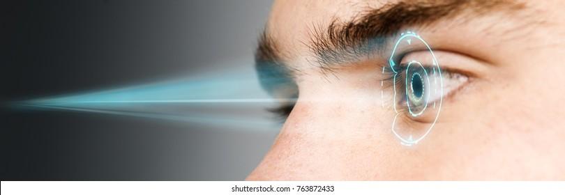 biometric retina eye scan