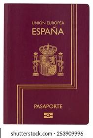 Biometric Spanish passport