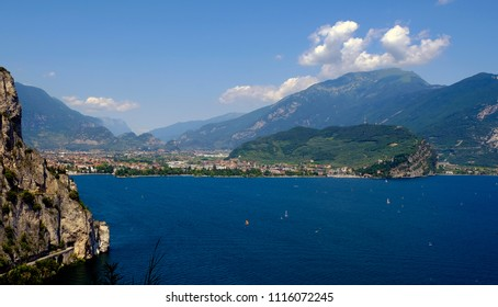 Bione  and Riva del Garda city